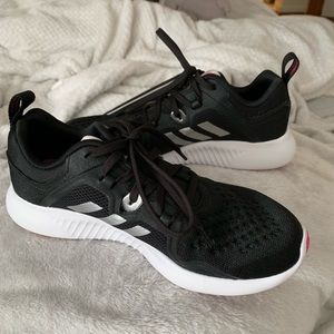 Adidas women's black shoes 7